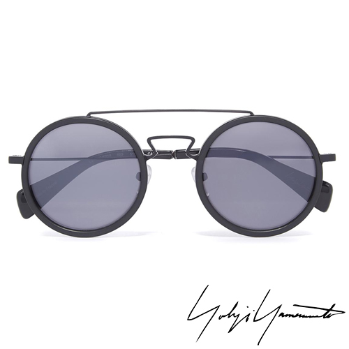 Yohji Yamamoto 山本耀司 時尚前衛太陽眼鏡-黑-YY5010-002