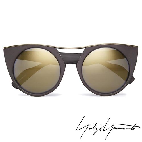 Yohji Yamamoto 山本耀司 時尚前衛太陽眼鏡-金-YY5012-115