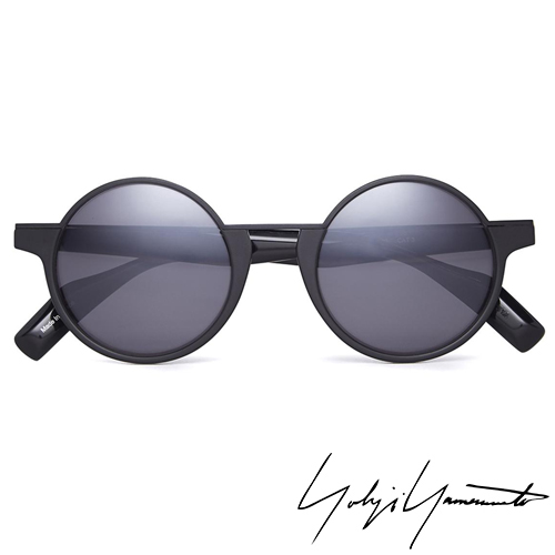 Yohji Yamamoto 山本耀司 時尚前衛太陽眼鏡-黑-YY5013-002