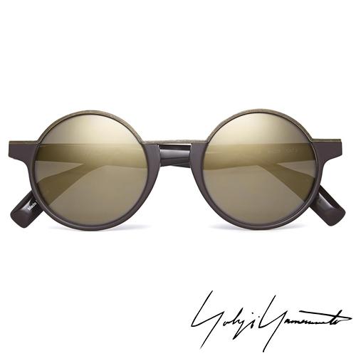 Yohji Yamamoto 山本耀司 時尚前衛太陽眼鏡-金-YY5013-115