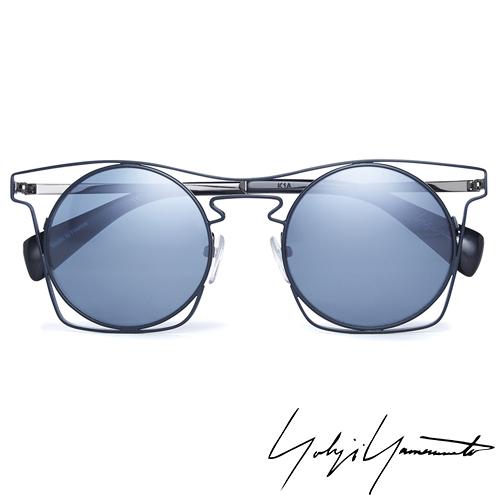 Yohji Yamamoto 山本耀司 時尚前衛太陽眼鏡-藍-YY7005-639