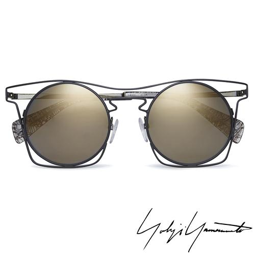 Yohji Yamamoto 山本耀司 時尚前衛太陽眼鏡-金-YY7005-004