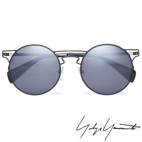 Yohji Yamamoto 山本耀司 時尚前衛太陽眼鏡-黑-YY7006-002