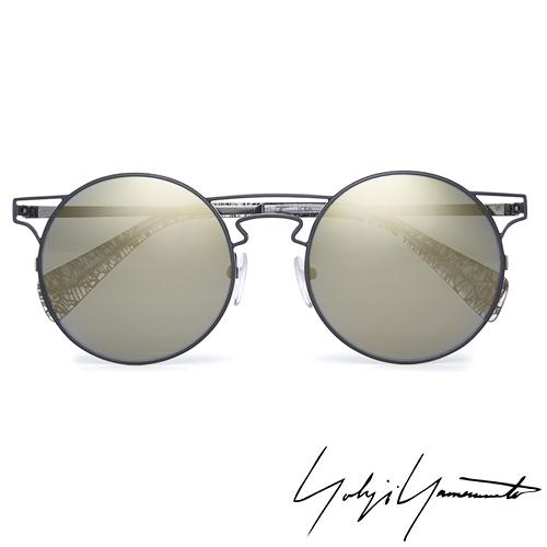 Yohji Yamamoto 山本耀司 時尚前衛太陽眼鏡-金-YY7006-004
