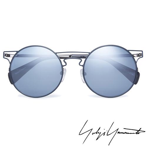 Yohji Yamamoto 山本耀司 時尚前衛太陽眼鏡-藍-YY7006-639