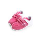 New Balance 童鞋 經典復古鞋 粉白KV574QPI