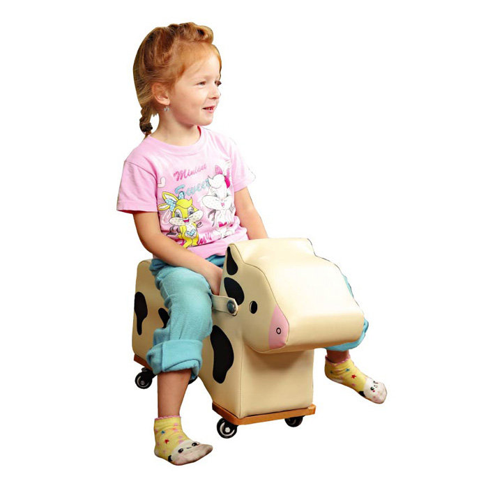 【華森葳兒童教玩具】感覺統合系列-小牛腳行車 GP1-12006