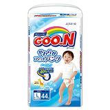 【GOO.N日本大王】大王褲型紙尿褲 日本境內版 男L(44片x3包/箱)