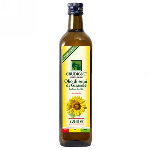 [統一生機]Crudigno義大利冷壓葵花油(750ml)