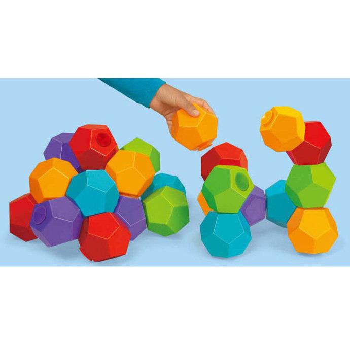 【華森葳兒童教玩具】感覺統合系列-五星球建構塔 N8-FF582