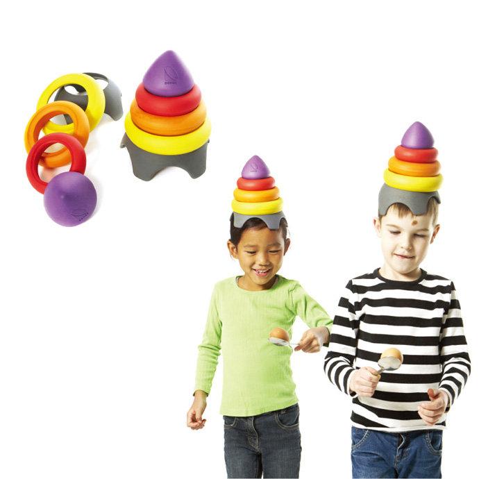 【華森葳兒童教玩具】感覺統合系列-平衡堆疊塔 B2-2127