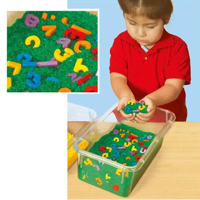 【華森葳兒童教玩具】感覺統合系列-數字觸覺盒 N8-PP531