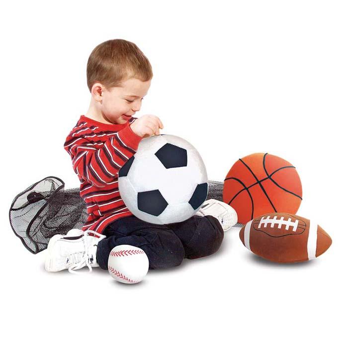 【華森葳兒童教玩具】感覺統合系列-幼兒布製軟球 N7-2179