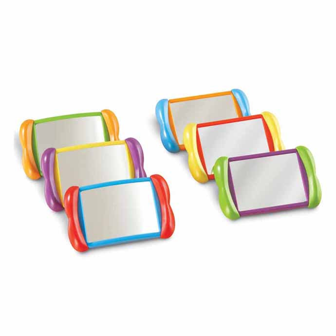 【華森葳兒童教玩具】感覺統合系列-自我認知雙面鏡 N1-3371
