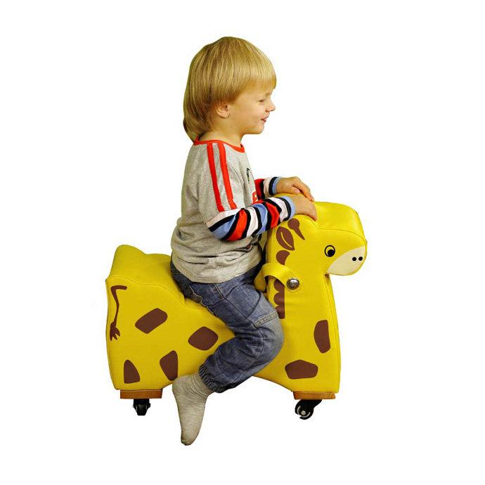 【華森葳兒童教玩具】感覺統合系列-長頸鹿腳行車 GP1-12004