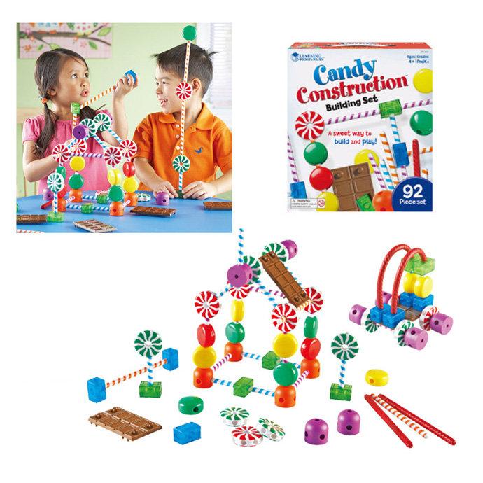 【華森葳兒童教玩具】感覺統合系列-建構糖果屋 N1-5020
