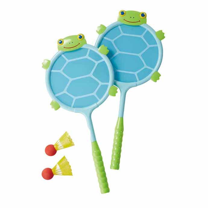 【華森葳兒童教玩具】感覺統合系列-烏龜球拍組 N7-6165