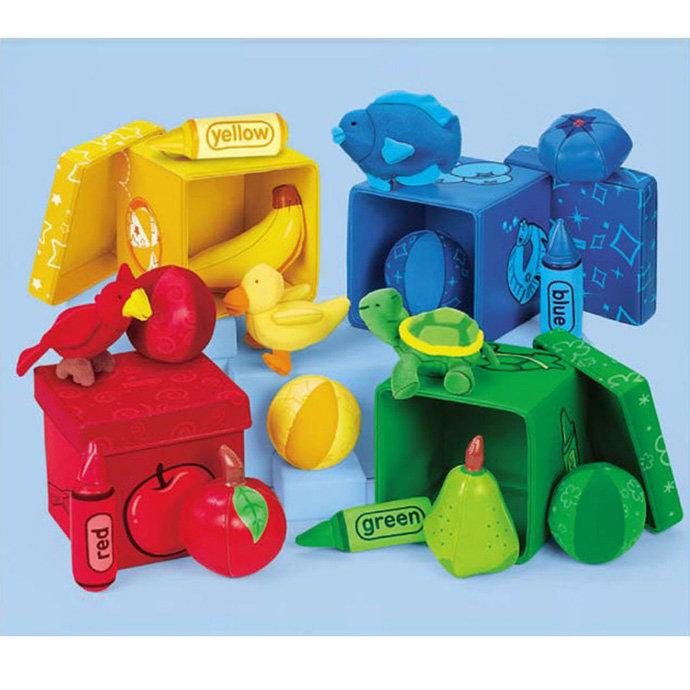 【華森葳兒童教玩具】感覺統合系列-寶寶顏色分類 N8-AA388