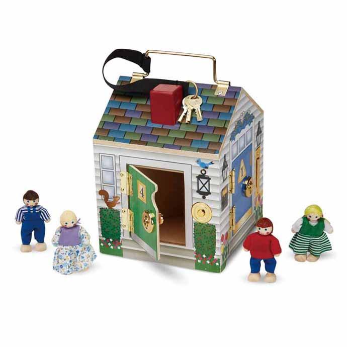 【華森葳兒童教玩具】感覺統合系列-鑰匙開開門 N7-2505