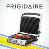 美國富及第Frigidaire 上下雙用多功能烤盤(烤肉/炒菜/煎蛋/鬆餅/帕里尼)FKG-1121BC (福利品)