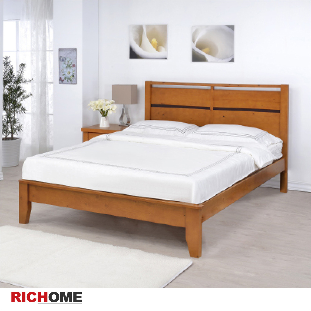 【RICHOME】艾得雙人床