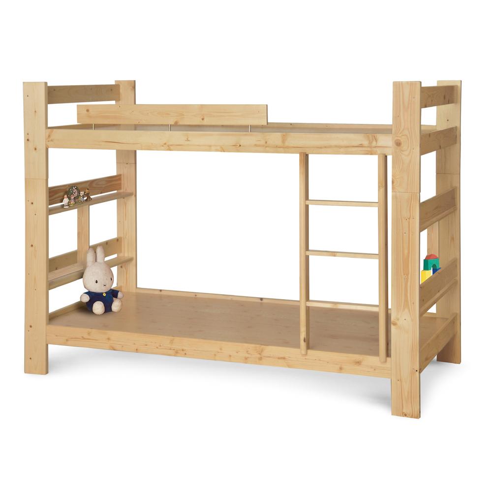 可拆兩床使用 北歐松木雙層床(加長型)