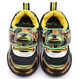 童鞋城堡-變形金剛 中大童 大黃蜂造型電燈運動鞋TF5174-黃