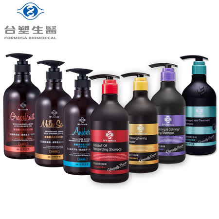 台塑生醫Dr's Formula 洗髮/潤絲/沐浴精x3