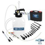 【良匠工具】10L氣動自排油 抽油機/ATF自動變速箱油/送油機/兩用機 14件配件適多種車款