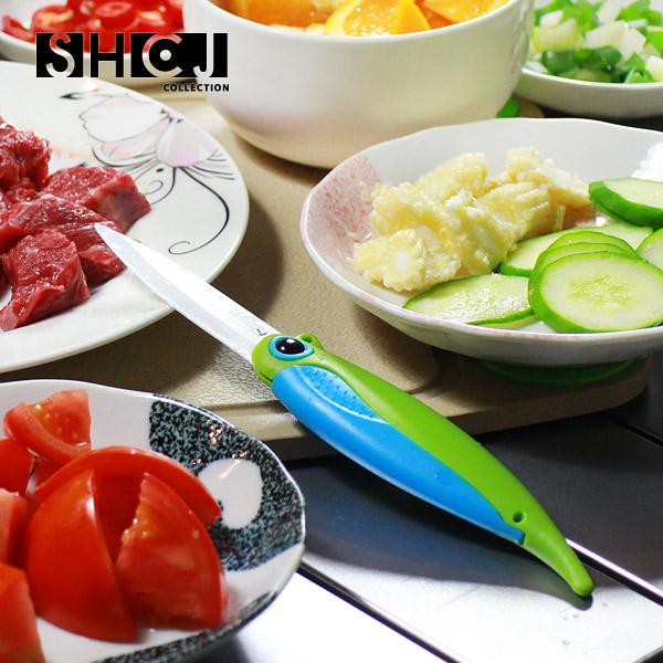 【SHCJ生活采家】戶外野營創意摺疊料理陶瓷刀#48001