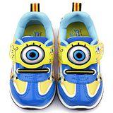【童鞋城堡】海綿寶寶 中童 立體電燈運動鞋(SG80056-藍)