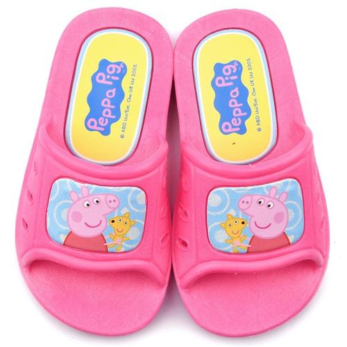 童鞋城堡-粉紅豬小妹 佩佩豬 中小童 室內外拖鞋PG0024-粉