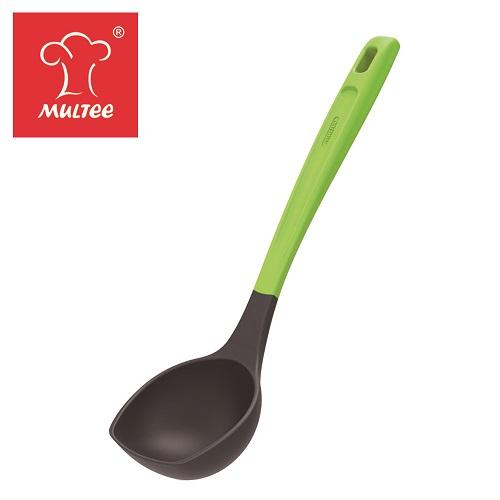 【MULTEE摩堤_鑄鐵鍋系列用品】迷你烹飪工具組-湯勺(綠)