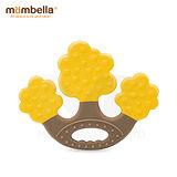 英國《mombella 》蘋果樹固齒器(黃色)