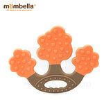 英國《mombella 》蘋果樹固齒器(橘色)