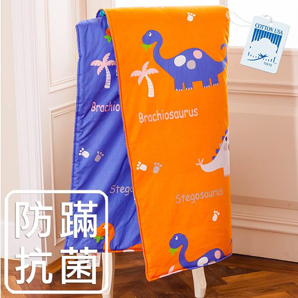 鴻宇HongYew~恐龍公園~防蹣抗菌 精梳棉 兒童涼被 4x5尺