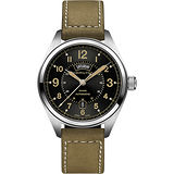 Hamilton KHAKI FIELD卡其野戰機械腕錶-黑x軍綠/42mm H70505833