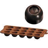 《IBILI》15格巧克力模(凹圓)