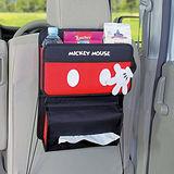 【NAPOLEXx迪士尼】米奇後座置物袋WD283 (汽車︱收納︱面紙盒套)