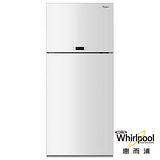 Whirlpool惠而浦 521L上下門玻璃面板電冰箱 WDT2525LW 送安裝