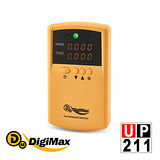 DigiMax★UP-211 便利攜帶式甲醛檢測儀xDP-3D6 強效型負離子空氣清淨機