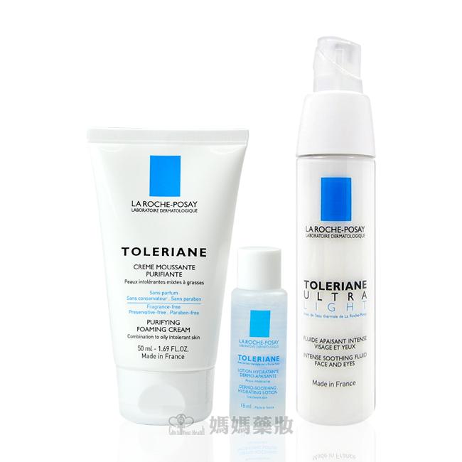 【含贈品不加價組合】理膚寶水多容安極效舒緩修護精華乳40ml (清爽型) 安心霜
