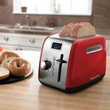【KitchenAid】 2片二槽下壓式烤麵包機 KMT222ER (紅)