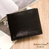 Roberta Colum - 魅力無限牛皮款12卡2照可拆式有內拉鍊短夾-共2色
