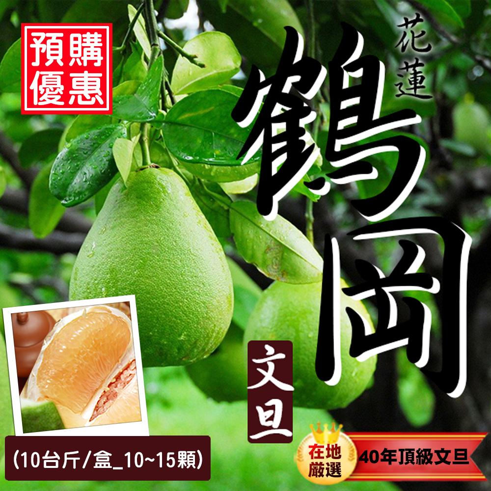 預購 台北濱江 40年老欉 鶴岡文旦10台斤