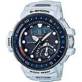 CASIO 卡西歐 G-SHOCK 怒海潛降航海運動時尚腕錶/57.3mm/GWN-Q1000-7A