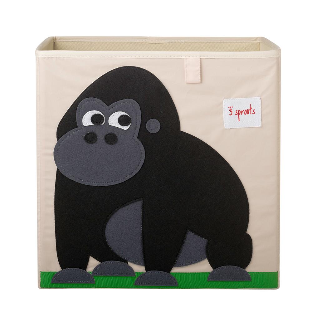 加拿大 3 Sprouts 收納箱-大猩猩