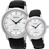 SEIKO Presage 羅馬時尚機械對錶 4R35-01A0S+4R35-01B0S(SRPA13J1+SRP861J1)