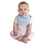 【Mum 2 Mum】機能型神奇三角口水巾咬咬兜-粉藍
