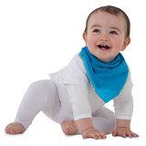 【Mum 2 Mum】機能型神奇三角口水巾咬咬兜-藍